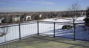 opening your home to the view with minimalist balcony railings