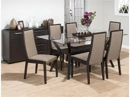 glass dining room sets beautiful glass dining room table contemporary
