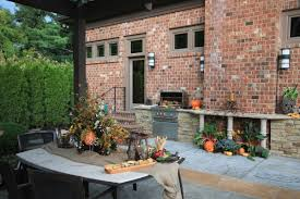 outdoor thanksgiving outdoor kitchens st louis poynter landscape