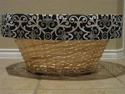 no sew storage baskets shanty 2 chic