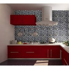 Ceramic Tile Kitchen Backsplash by Porcelain Tile Snowflake Style Mosaic Art Design