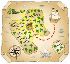 Treasure Map Clipart Explore The Island Stock Photos Royalty Free Explore The Island