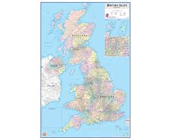Ryman Seating Map Wall Pops Dry Erase Map British Isles