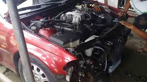 bmw e46 1uz fe first start up
