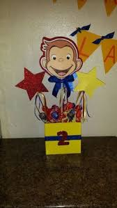 Curious George Centerpieces by Curious George Centerpieces Curious George Bday Pinterest