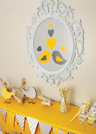 yellow and gray baby shower decorations 41 gender neutral baby shower décor ideas that excite digsdigs