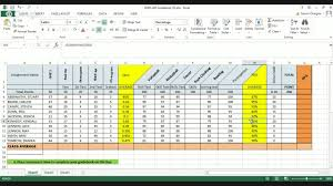 Grade Book Template Excel How To Complete Physical Education Gradebook