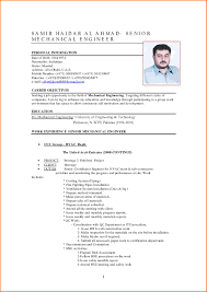 Resume For Ba Mechanical Engineer Resume Canada And Sample Resume For Mechanical