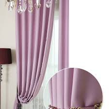 Custom Blackout Drapes Custom Blackout Curtains In Violet Color For Girls Buy As Photo