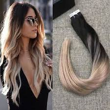 20 inch hair extensions shine 20 inch ombre balayage in hair extensions human