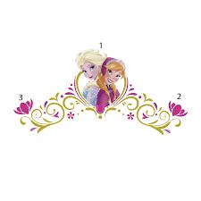 Headboard Wall Sticker by Disney Frozen Spring Time Headboard Wall Stickers With