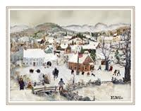will moses christmas cards the of will moses will moses noel christmas card collection set r