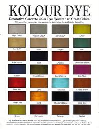 floor diy concrete stain acid color chart on modern home