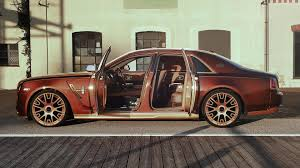roll royce fenice mansory tricks out rolls royce ghost series ii in a good way