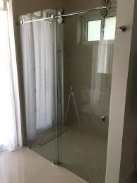 Shower Doors Repair Shower Door Frameless Mirror Vanity Patio Sliding Glass Door