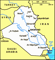 map of irak iraq special weapons facilities