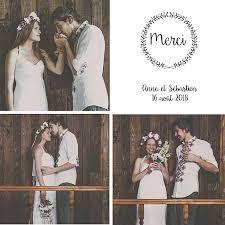 modele remerciement mariage carte remerciements mariage couronne fleurie popcarte