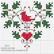 christmas cross stitch patterns google search embroidery