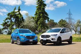 Ford Escape Colors 2016 - 2017 ford escape vs 2016 hyundai tucson autos ca