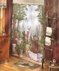 Country Themed Shower Curtains Country Curtains Country Moose And 5 Bath Set Cabin