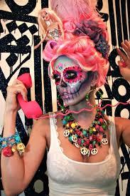 dia de los muertos dolly professional makeup kit and halloween