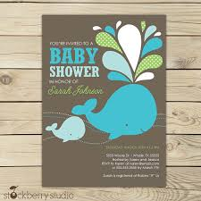whale baby shower invitations whale baby shower invitation printable green aqua blue white
