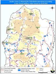 West Bank Map Cutting The Northern Arteries Of The West Bank U2013 Poica