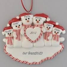 3 grandchildren ornament grandparents