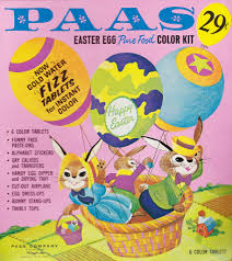 paas easter egg dye vintage paas easter egg coloring kit 1960s egg dye childhood