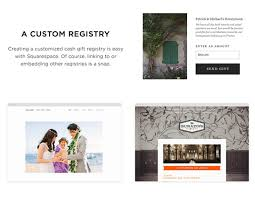 registry wedding website create modern wedding websites with squarespace ruffled