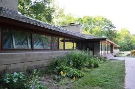albert and edith adelman house 1948 usonian style fox point