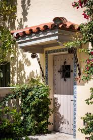 Florida Style Homes Classic Spanish Revival Style Entry Door In An Palm Beach Florida