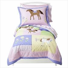 Pony Comforter Pink Pony Horse Toddler Bedding Set 5pc Bed In A Bag
