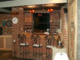 basement bar ideas with brick awesome outdoor room decor ideas