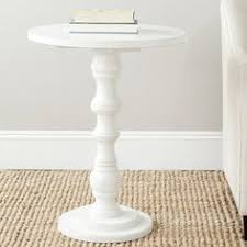 Nursery Side Table Diy Pedestal Side Table Learning Easy And Store