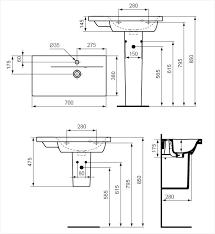 meuble cuisine hauteur hauteur standard meuble cuisine comme référence correctement