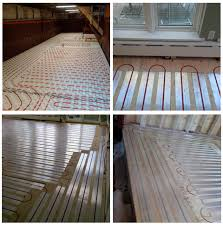 hydronic radiant floor heating installation thermtechthermtech