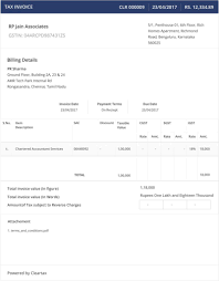 maintenance invoice template free and invoicing under gst supply
