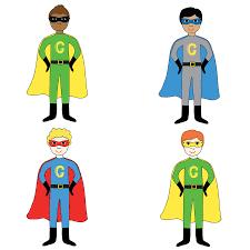 halloween birthday card superhero personalised child birthday card by superfumi