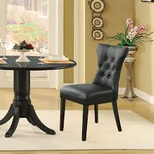 amazon com modway silhouette modern dining chair in black chairs