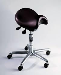 siege dentiste siège ergonomique pour le mal de dos couleur black