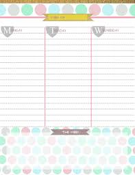 printable planner pages for 2015 downloadable planner 2015 dcbuscharter co