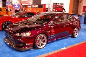 mitsubishi custom cars photo galore mitsubishi lancer evos from last year u0027s sema show