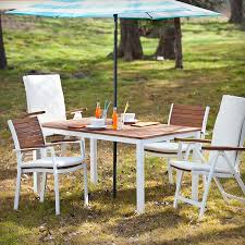 Drop Leaf Patio Table Outdoor 6 Patio Set 100 Folding Patio Dining Set