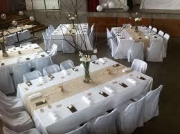 housses de chaises mariage la housse de chaise mariage décoration réception