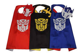 transformer birthday transformer cape and mask transformer costume optimus prime
