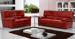 univers du canapé salon arezzo 3 2 en véritable cuir de buffle fabrication italienne