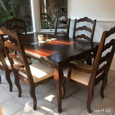 lilyfield life easter a dining table makeover and a sideboard to
