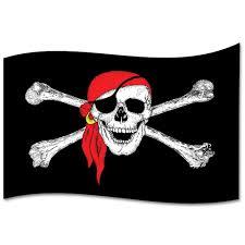 Black American Flag Bandana Giant Skull In Bandana Display Flag 2 4m X 1 5m Peeks