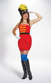 Toy Soldier Halloween Costume Toy Soldier Lady Costume Womens Halloween Costumes Savers